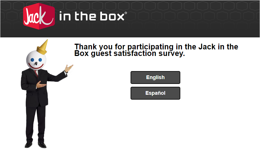 Jack In The Box Guest Experience Survey