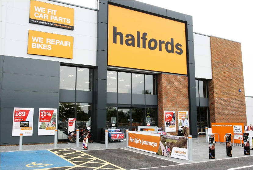 Tell Halfords Guest Satisfaction Survey