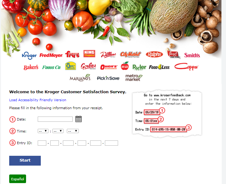 Roundy's Supermarkets Guest Experience Survey